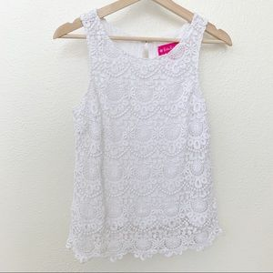 Lilly Pulitzer Lace Top